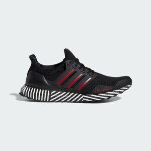 "Adidas Ultraboost ""Striped Boost"" in Black"